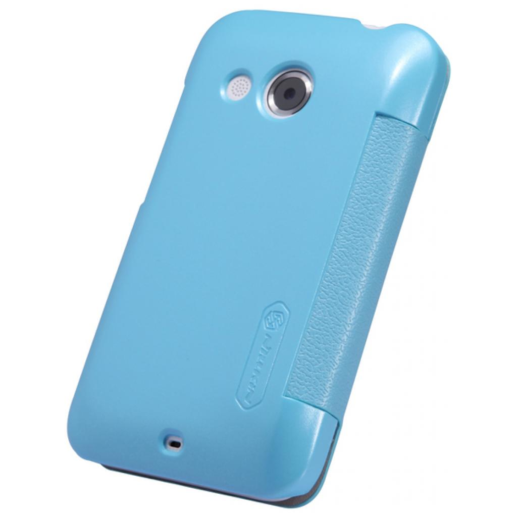 Чехол для моб. телефона NILLKIN для HTC Desire 200 /Fresh/ Leather/Blue (6076827) изображение 4