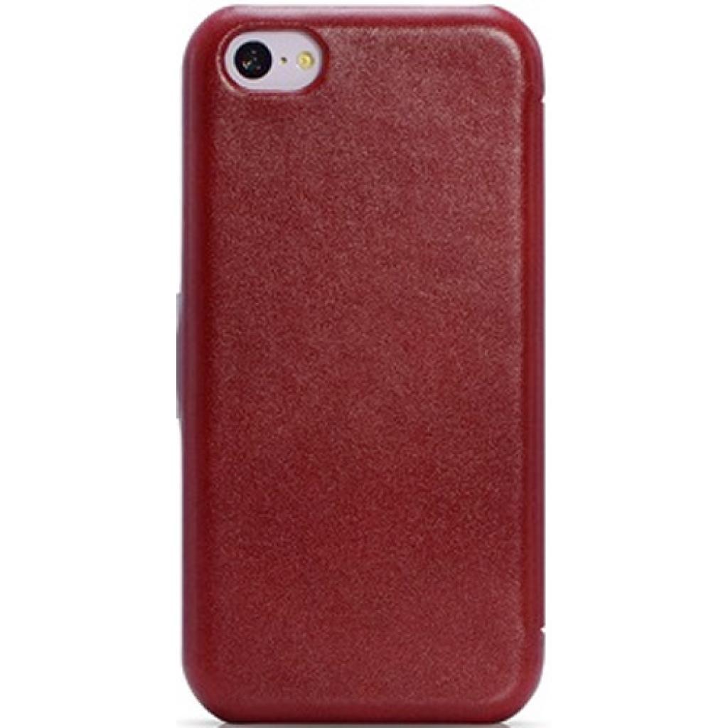 Чехол для моб. телефона i-Carer iPhone 5C luxury series side open red (RIP521RE) изображение 2