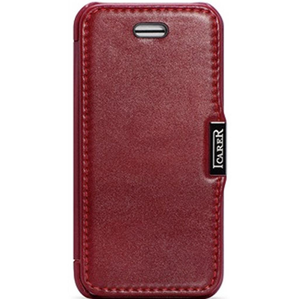 Чехол для моб. телефона i-Carer iPhone 5C luxury series side open red (RIP521RE)