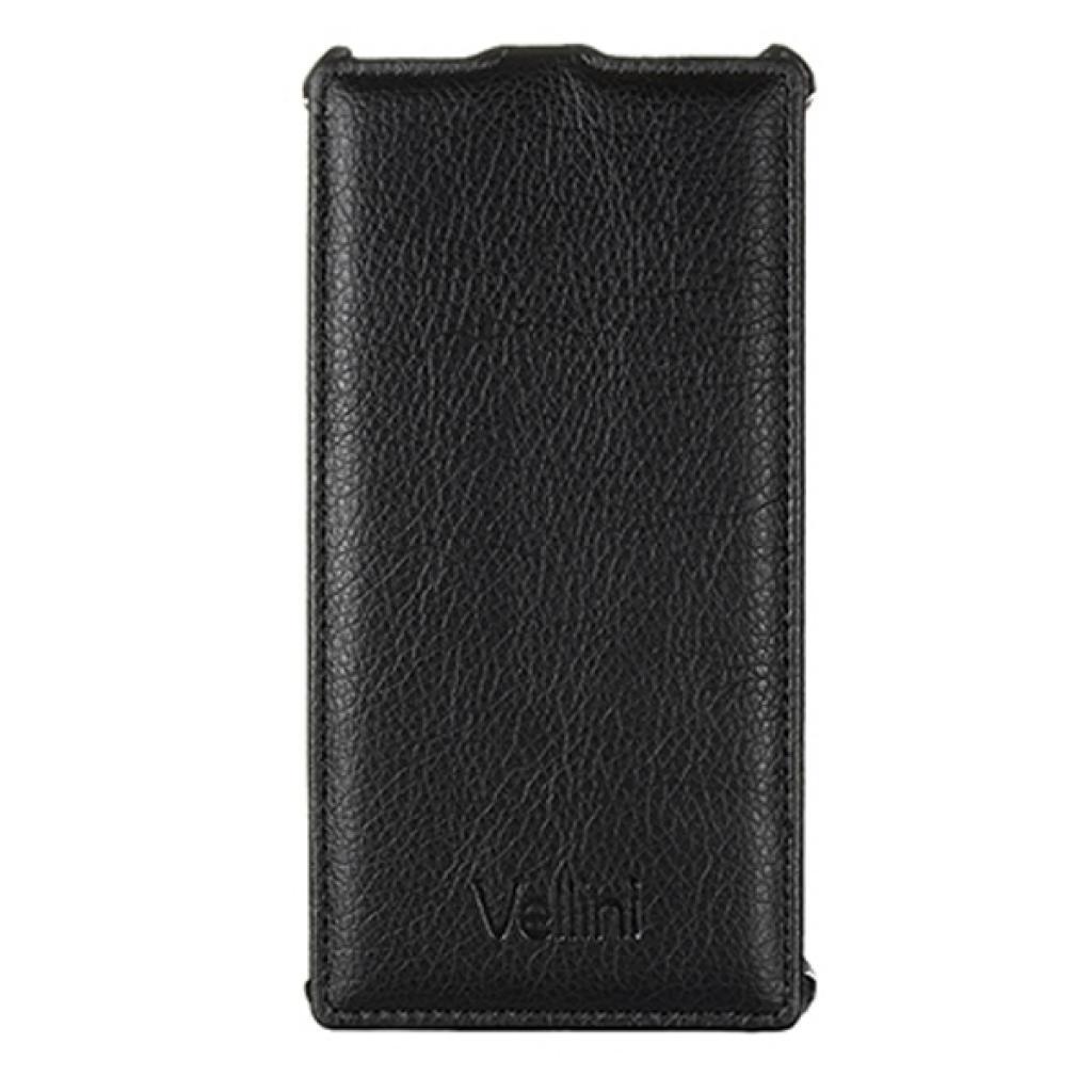 Чехол для моб. телефона Vellini для Sony Xperia C3 D2502 Black /Lux-flip (215822)