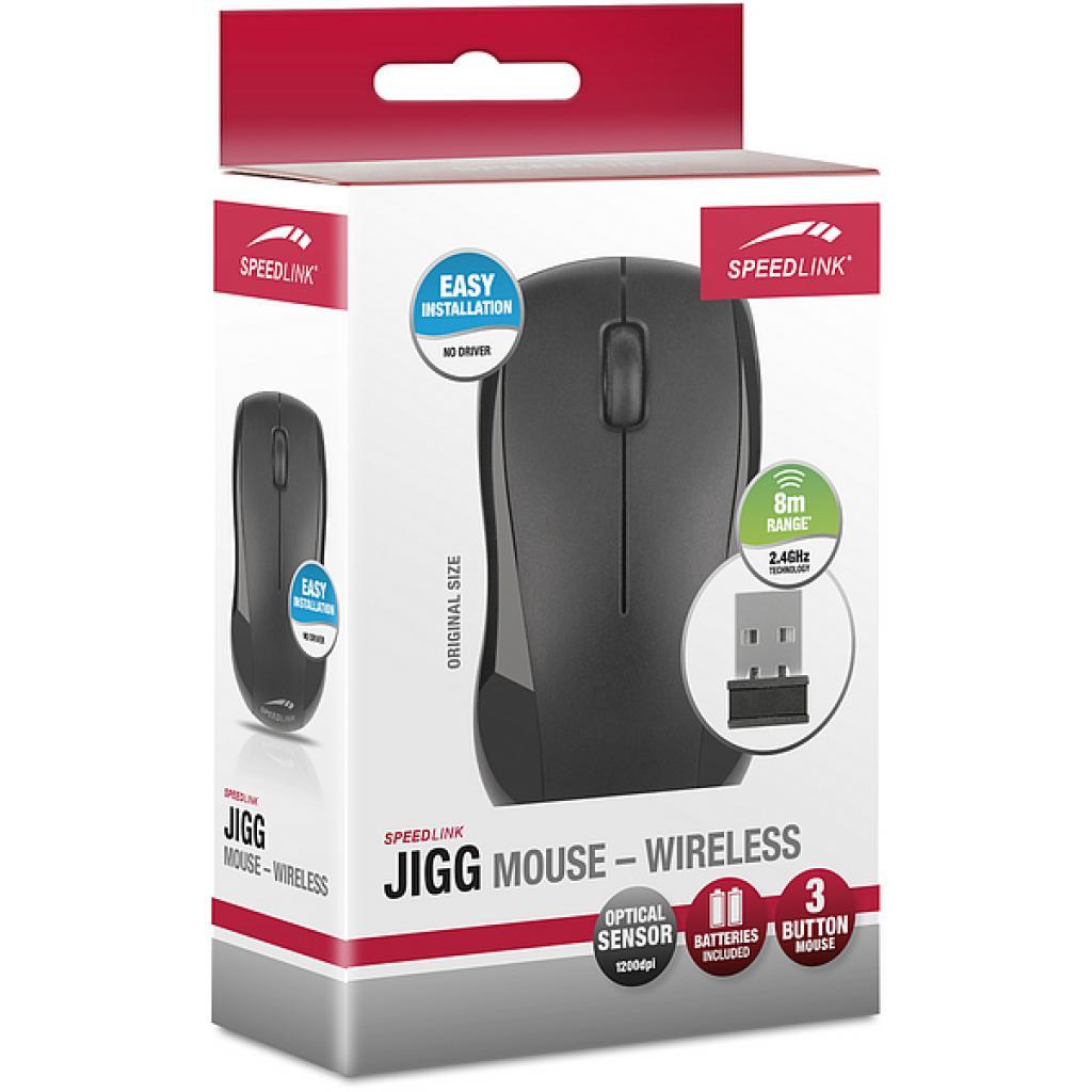 Мышка Speedlink Jigg Mouse - Wireless, black (SL-6300-BK/US) изображение 4