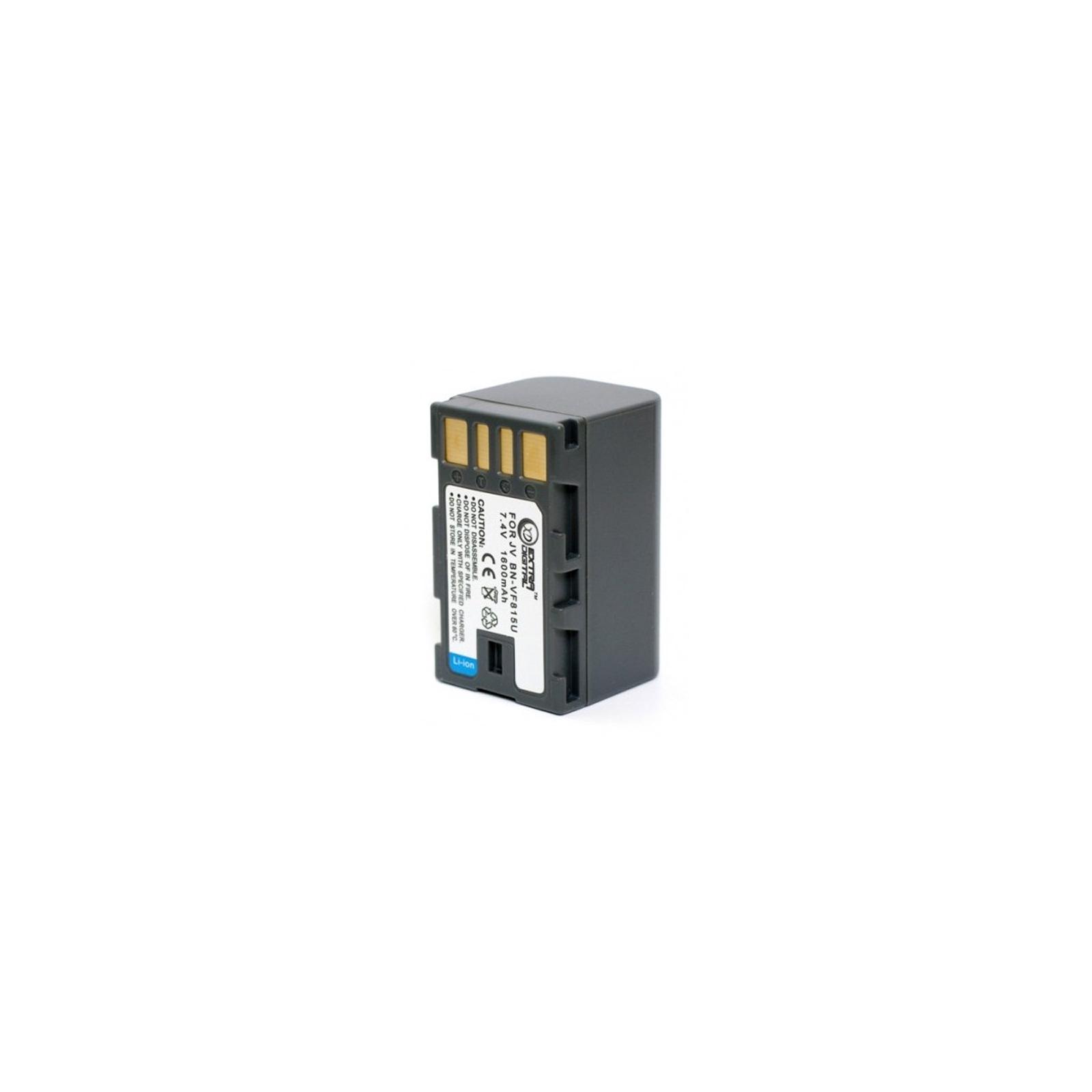 Аккумулятор к фото/видео EXTRADIGITAL JVC BN-VF815 (BDJ2490) изображение 2
