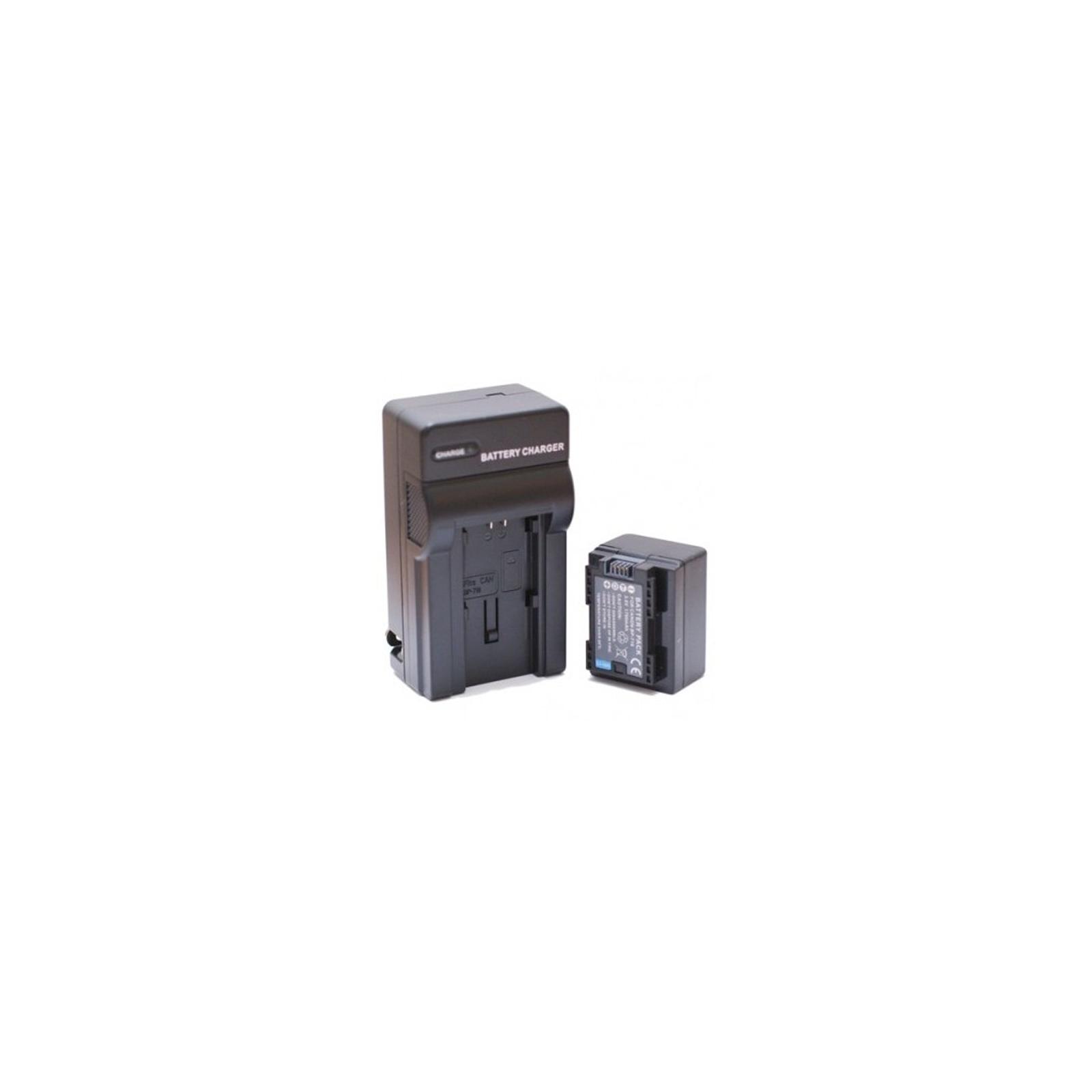 Аккумулятор к фото/видео EXTRADIGITAL Canon BP-718 + зарядное устройство (DV00DV1375) изображение 2