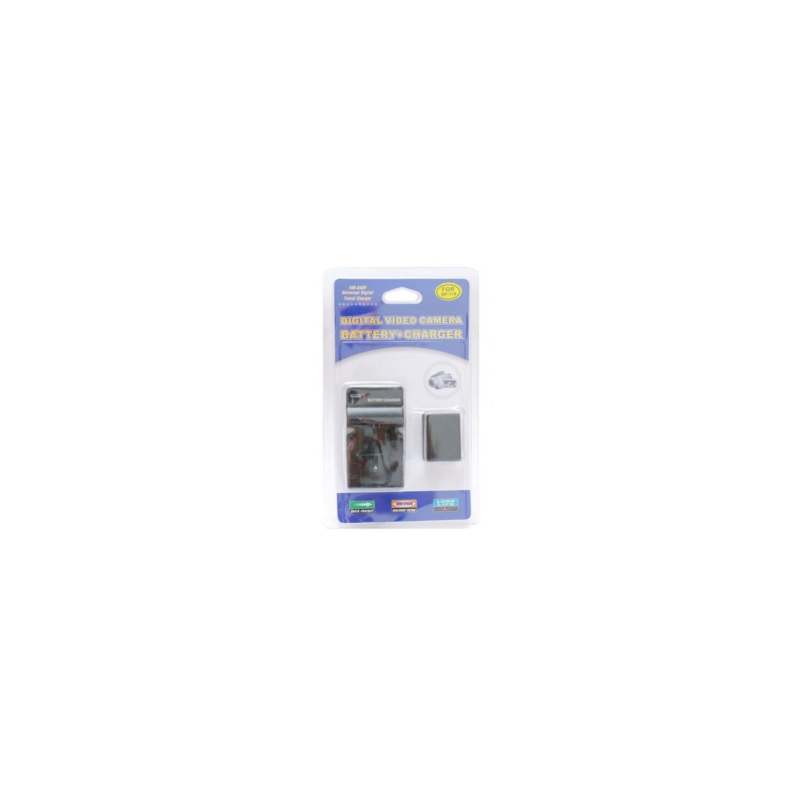 Аккумулятор к фото/видео EXTRADIGITAL Canon BP-718 + зарядное устройство (DV00DV1375) изображение 4