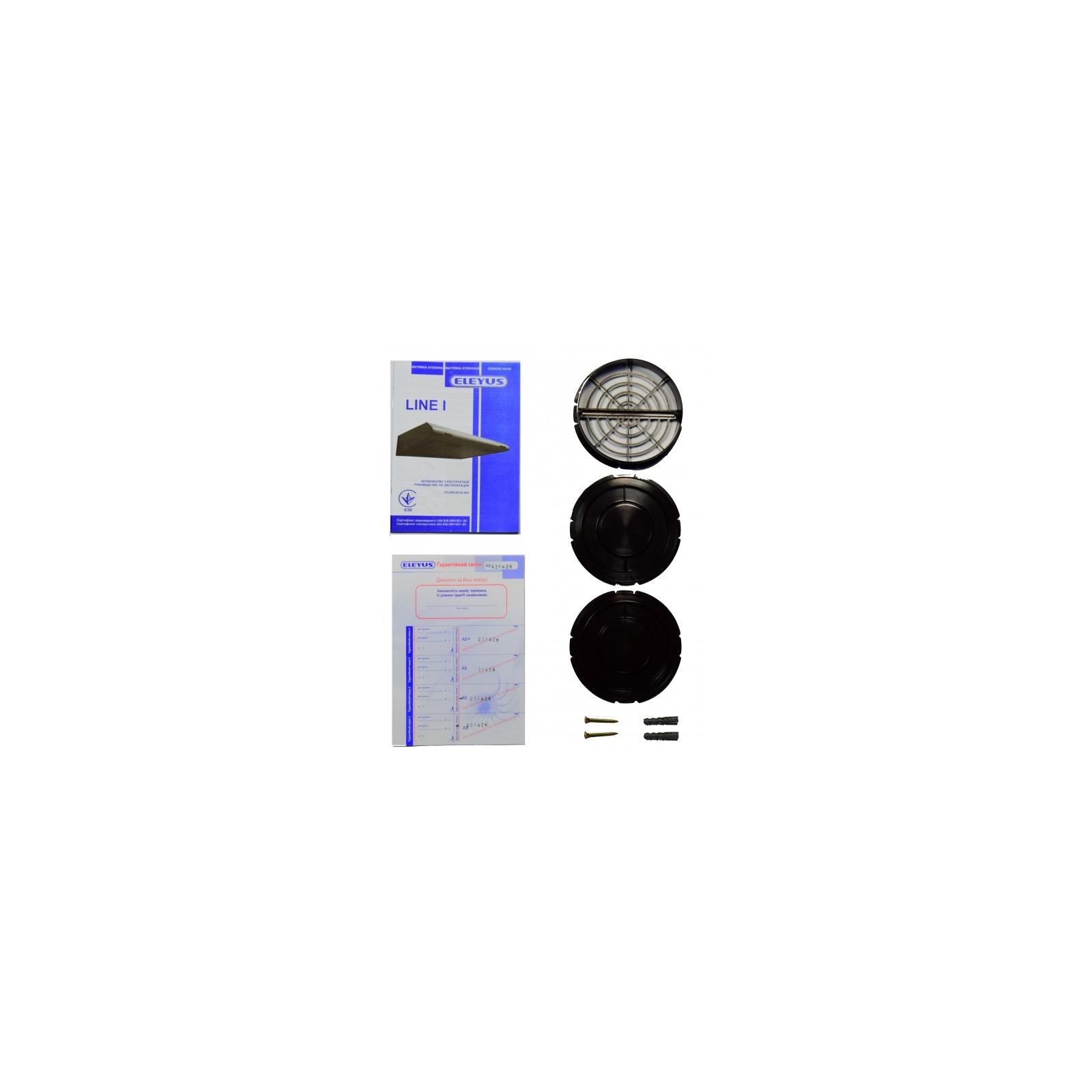 Вытяжка кухонная ELEYUS Line I 50 BG изображение 9