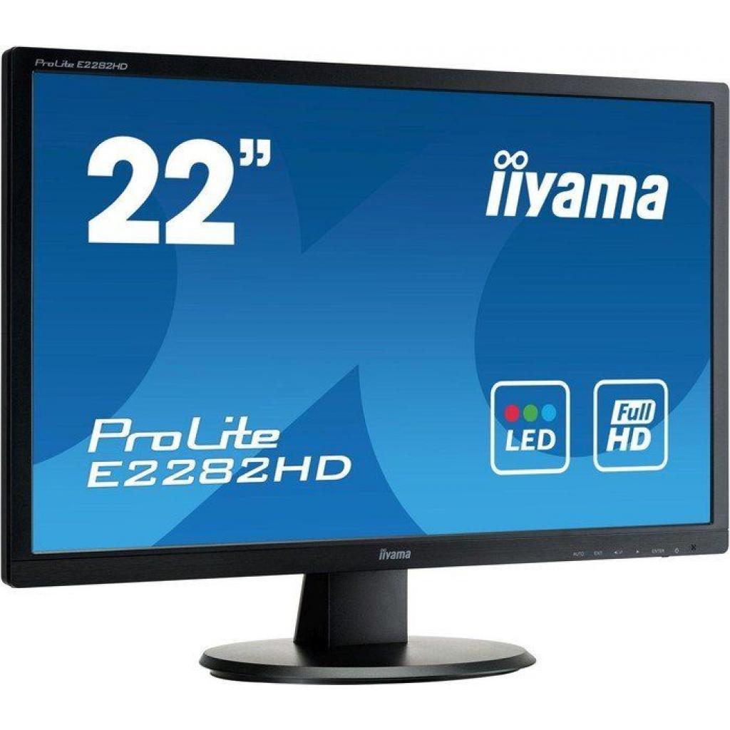 Монитор iiyama E2282HD-B1 изображение 2