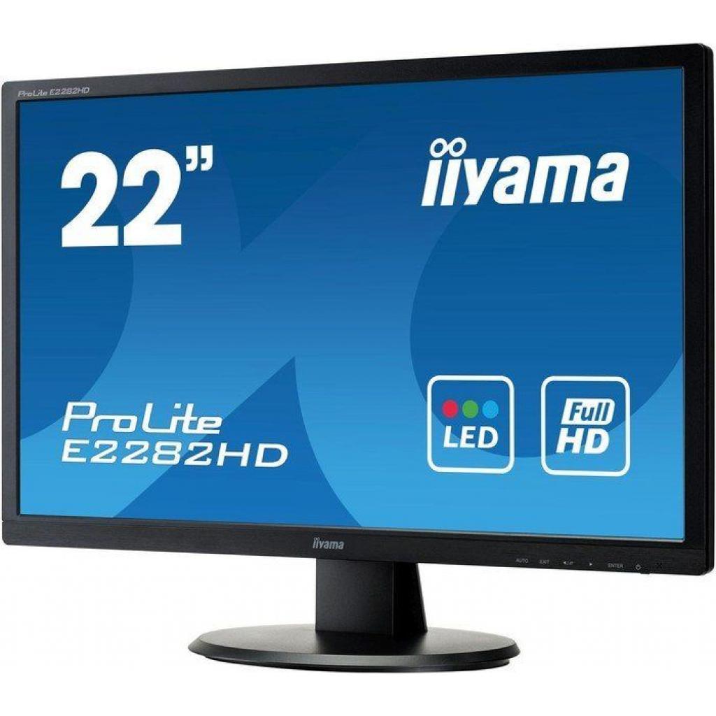 Монитор iiyama E2282HD-B1 изображение 3