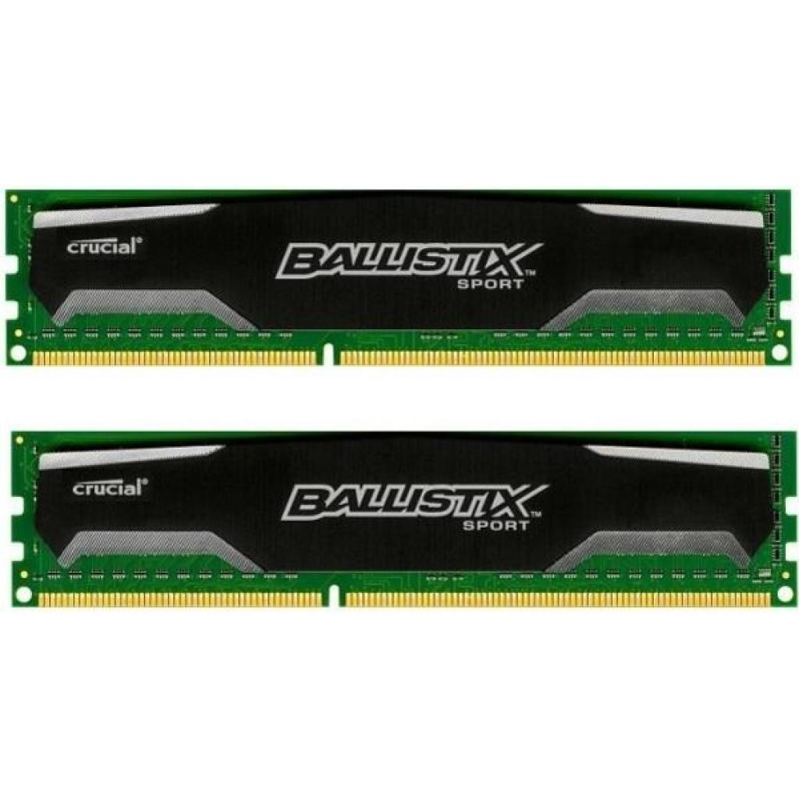 Модуль памяти для компьютера DDR3 8GB (2x4GB) 1600 MHz Ballistix Sport MICRON (BLS2C4G3D169DS1J)