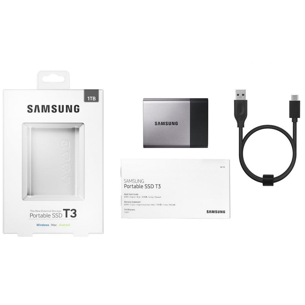Накопитель SSD USB 3.0 1TB Samsung (MU-PT1T0B/EU) изображение 10