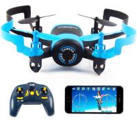 Квадрокоптер JXD 512W blue 90мм WiFi камера (45097)