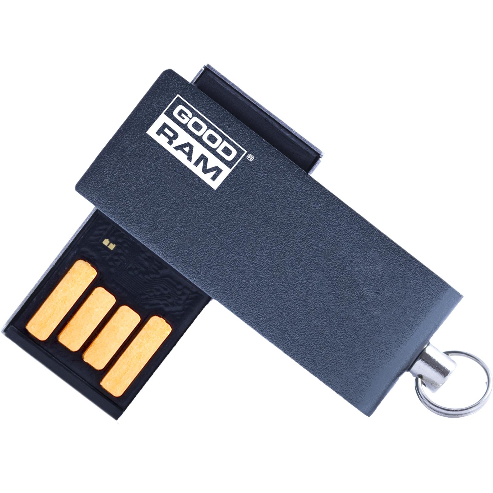 USB флеш накопитель Goodram 16GB Cube Black USB 2.0 (UCU2-0160K0R11)