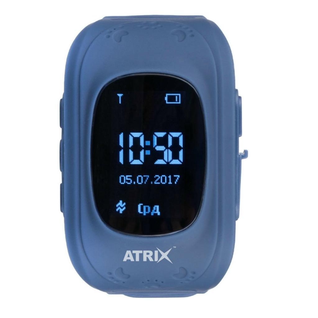 Смарт-годинник ATRIX Smartwatch iQ300 GPS Dark Blue ціни в Києві та ... be3c5c572fcaa