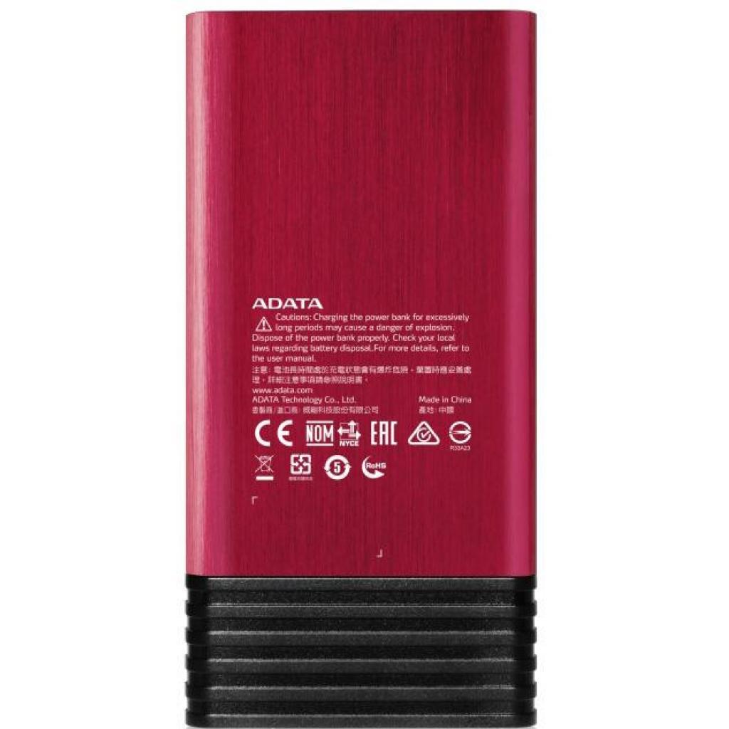 Батарея универсальная ADATA X7000 7000mAh Red (AX7000-5V-CRD) изображение 3