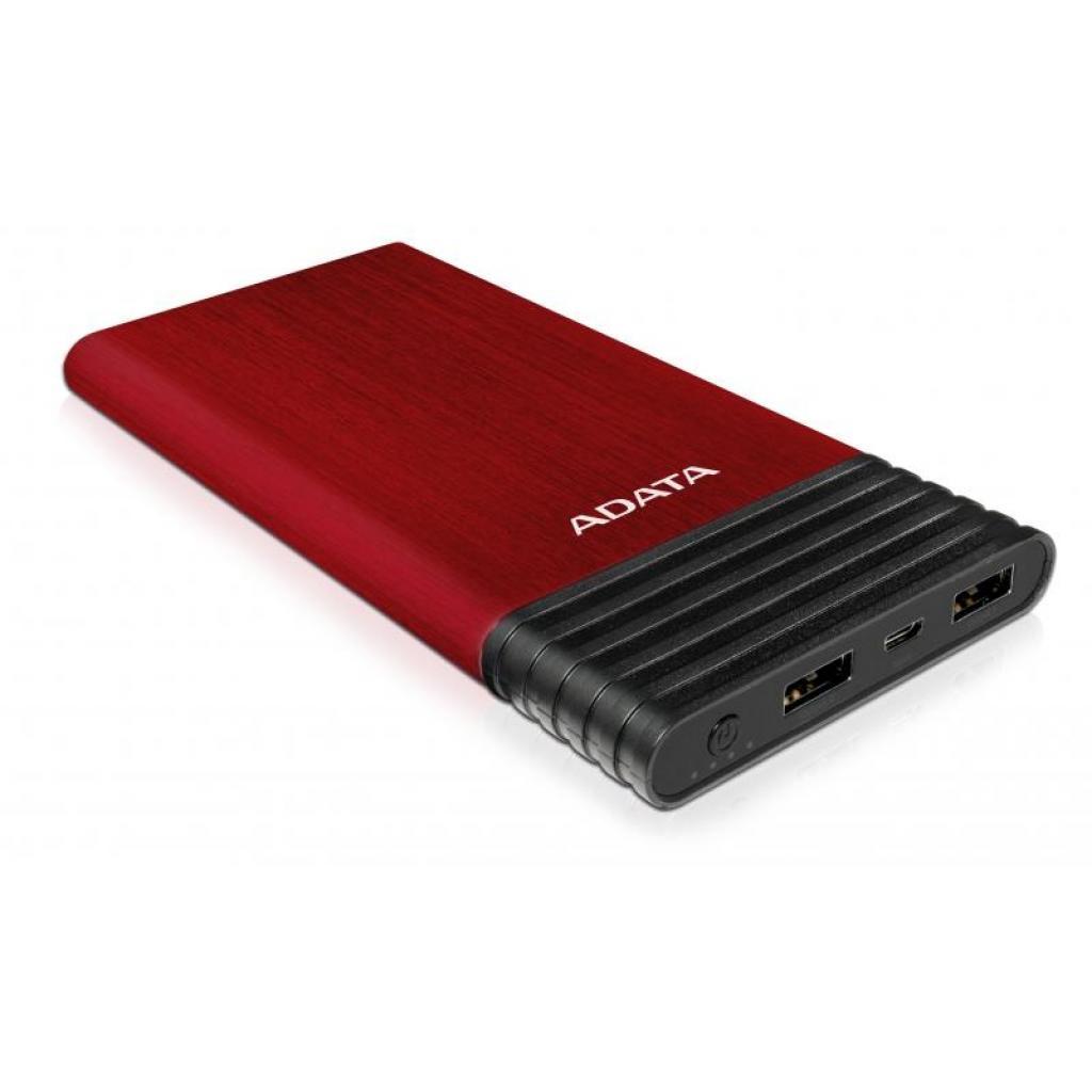 Батарея универсальная ADATA X7000 7000mAh Red (AX7000-5V-CRD) изображение 4