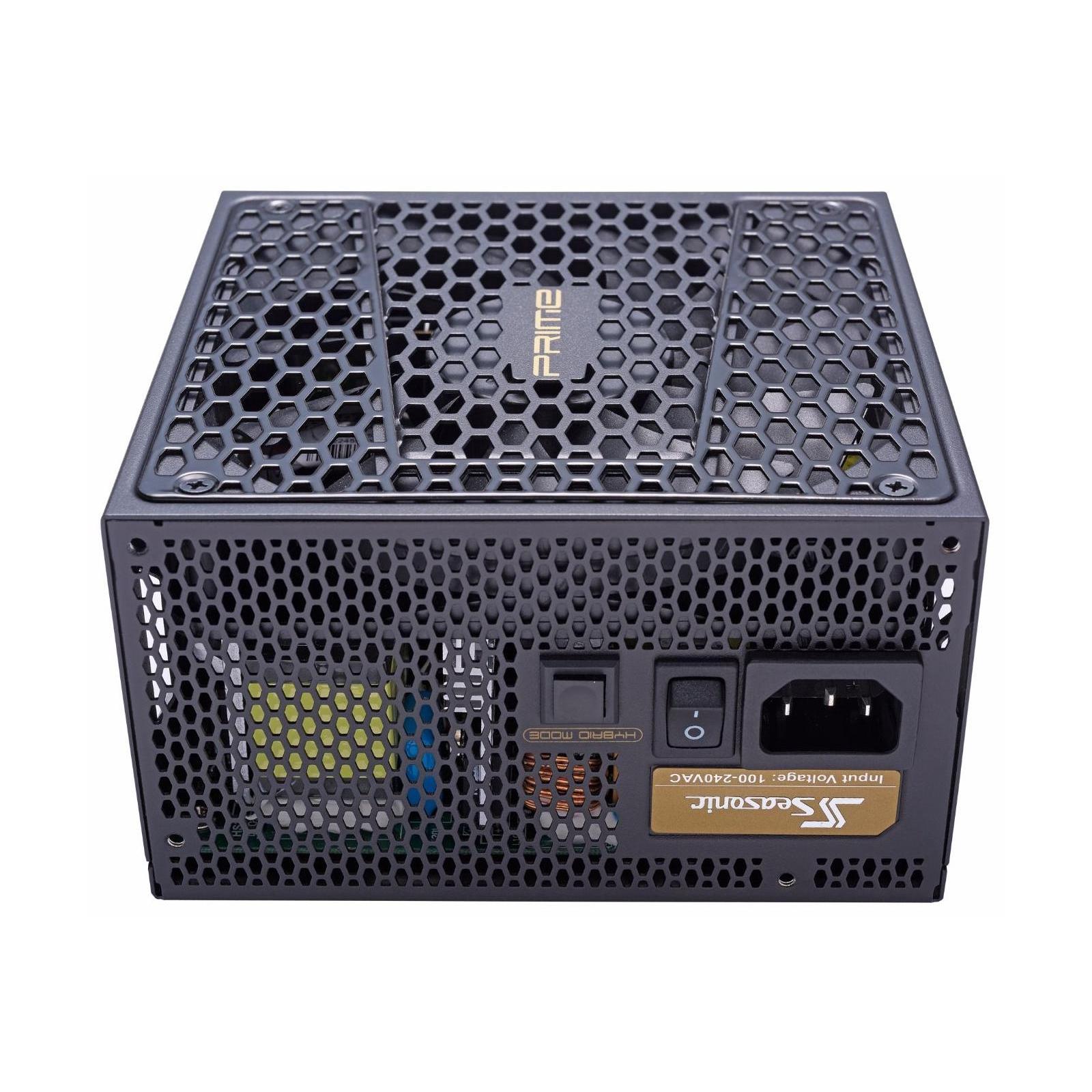 Блок питания Seasonic 650W Prime Ultra Gold (SSR-650GD2) изображение 3