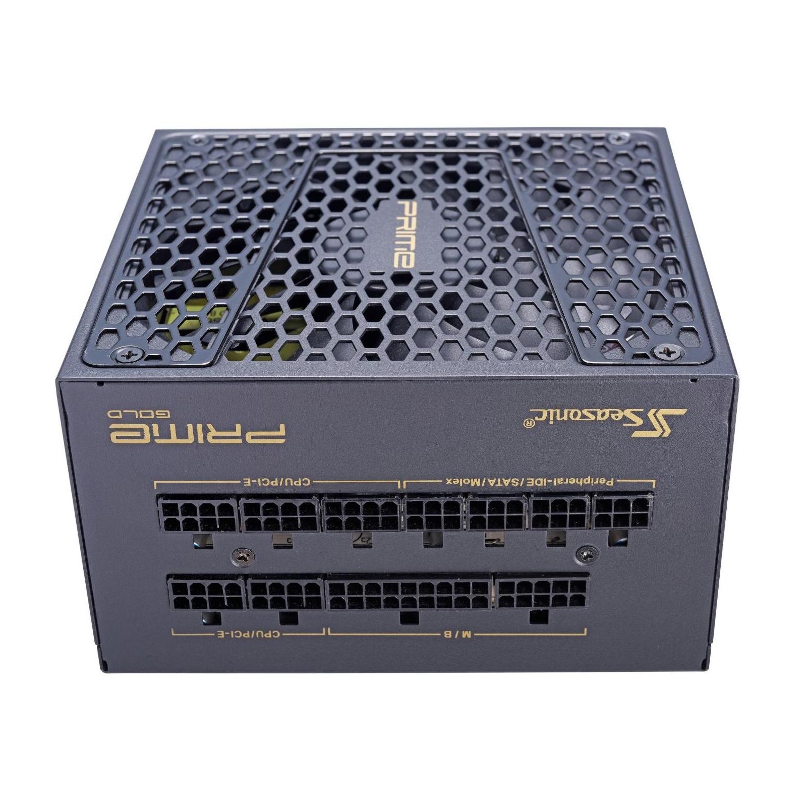Блок питания Seasonic 650W Prime Ultra Gold (SSR-650GD2) изображение 4