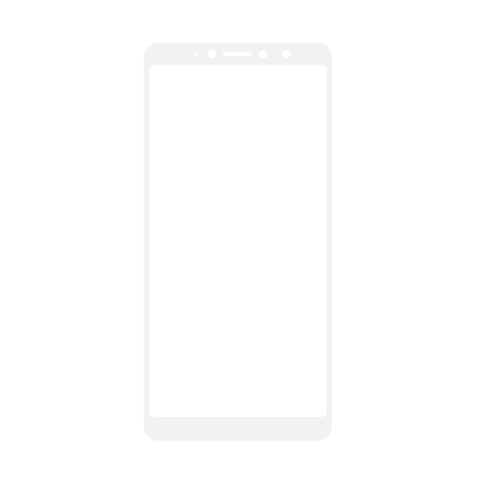 Стекло защитное MakeFuture для Xiaomi Redmi S2 White Full Cover Full Glue (MGFC-XRS2W) изображение 2