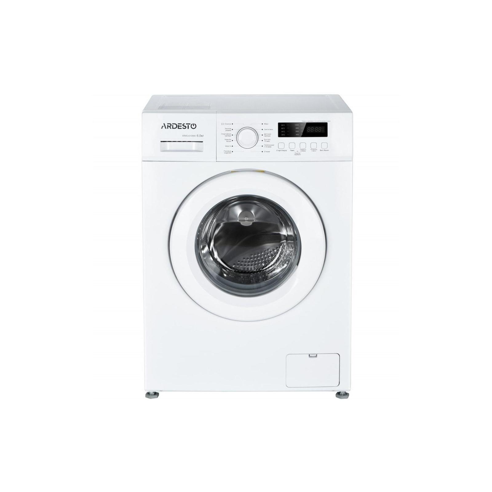 Стиральная машина Ardesto WMS-6109W изображение 2