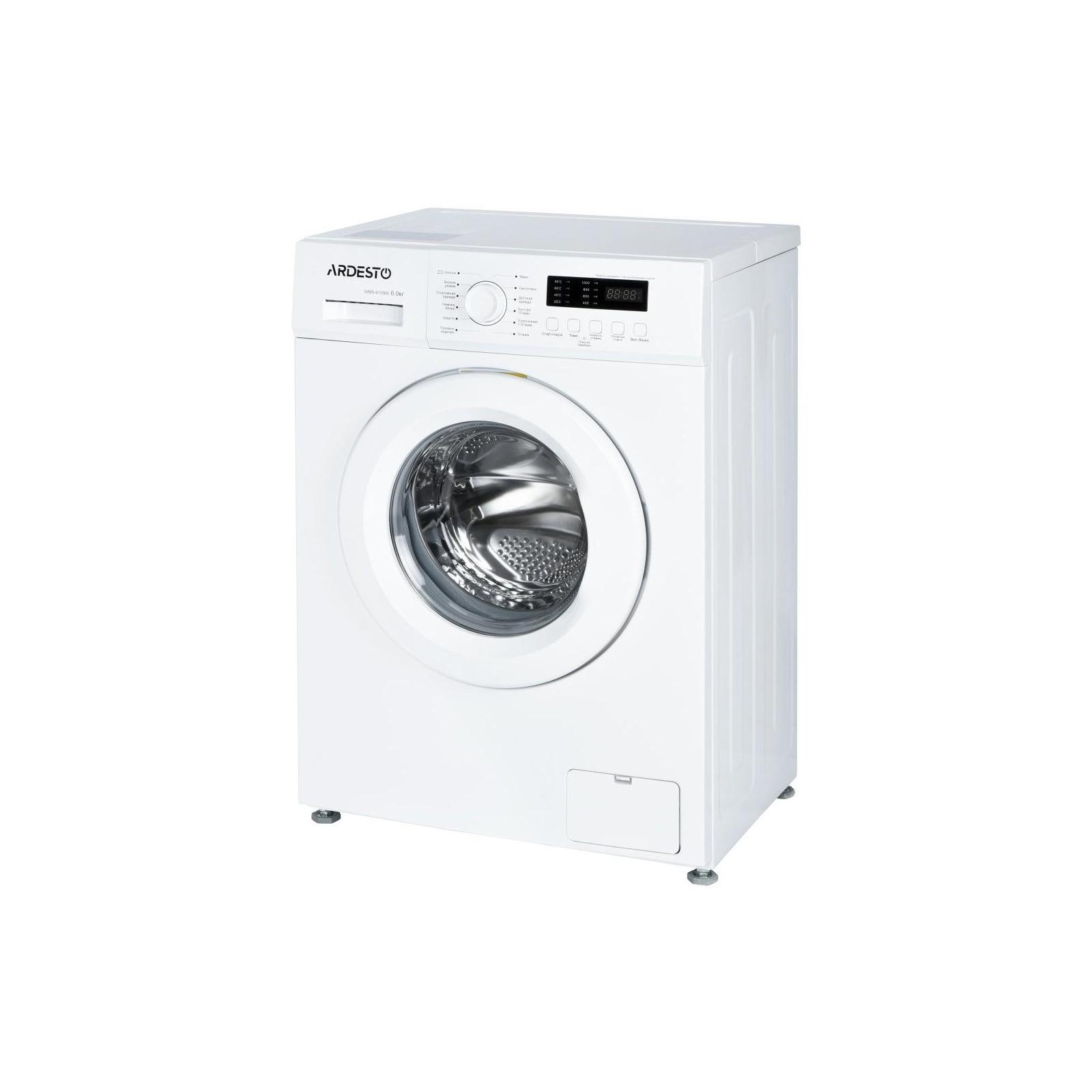 Стиральная машина Ardesto WMS-6109W изображение 3
