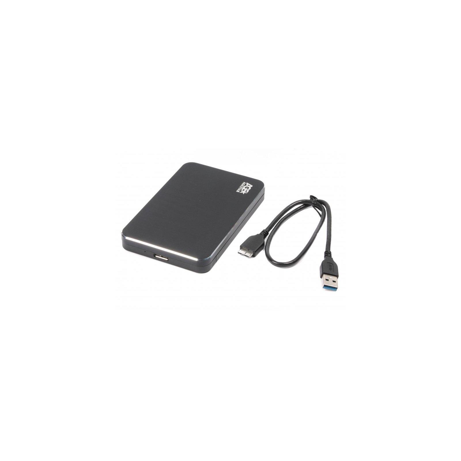 """Карман внешний AgeStar 2.5"""", USB3.1, черный (31UB2A18 (Black)) изображение 2"""