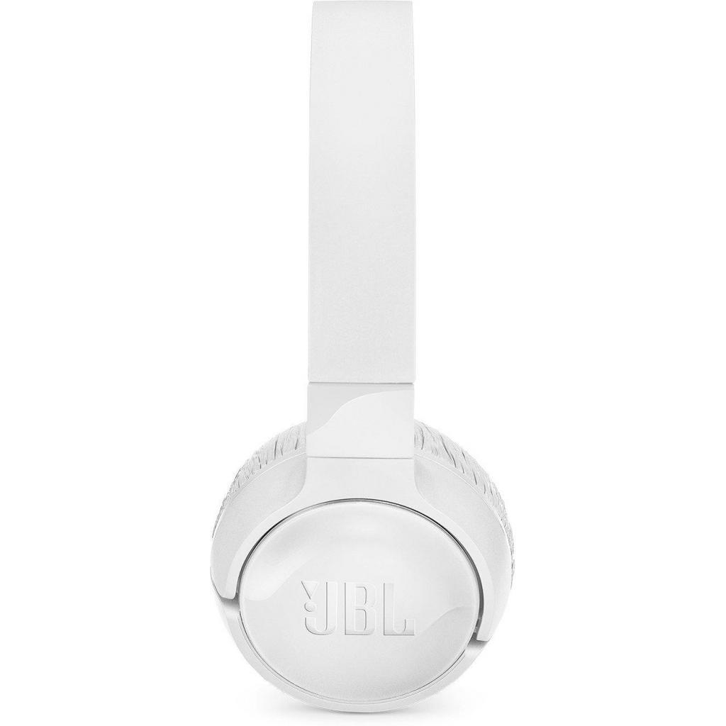 Наушники JBL T600ВТ NC White (T600BTNCWHT) изображение 3
