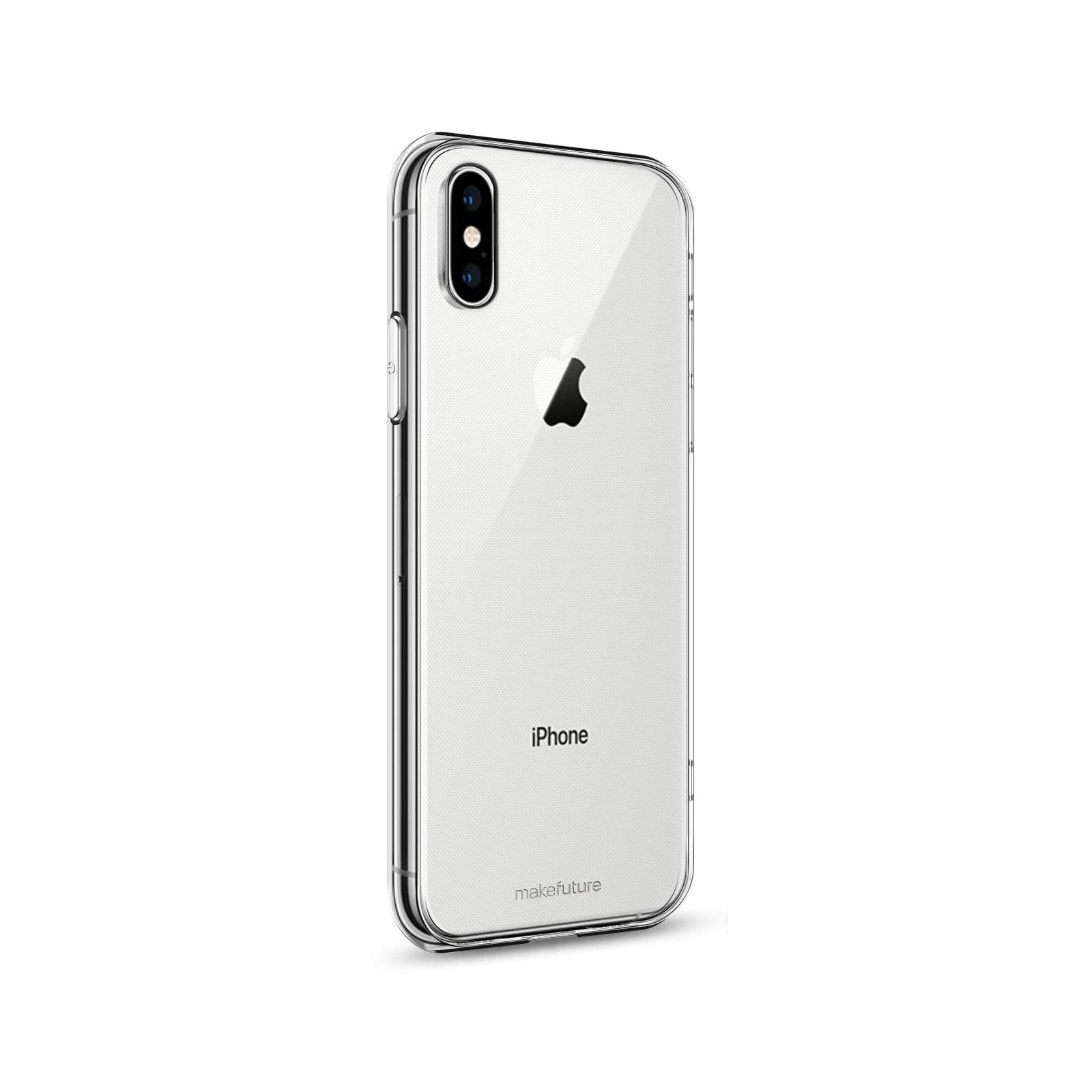Чехол для моб. телефона MakeFuture Air Case (TPU) Apple iPhone XS Clear (MCA-AIXSCL) изображение 2