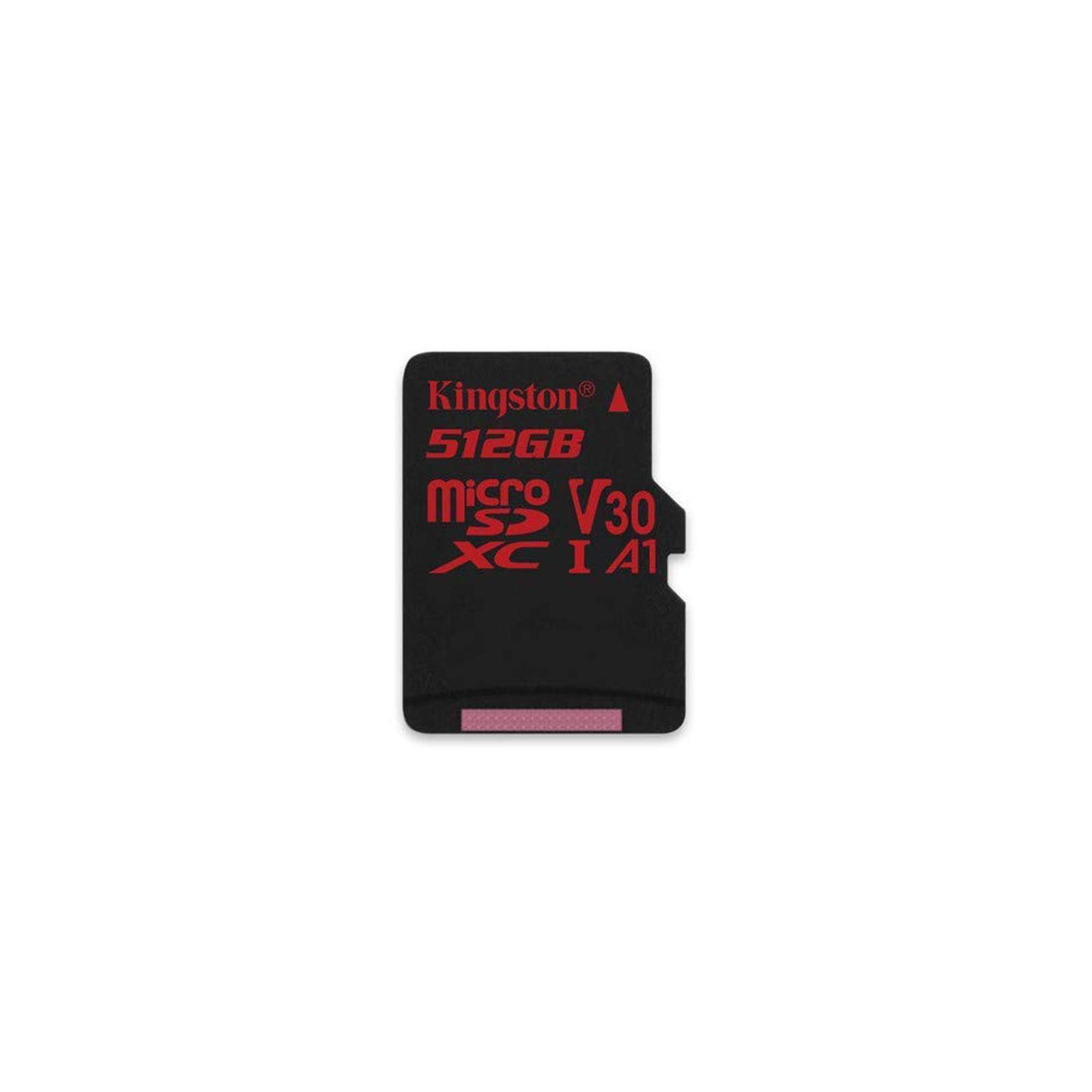 Карта памяти Kingston 512GB microSDXC class 10 UHS-I U3 Canvas React (SDCR/512GB) изображение 4
