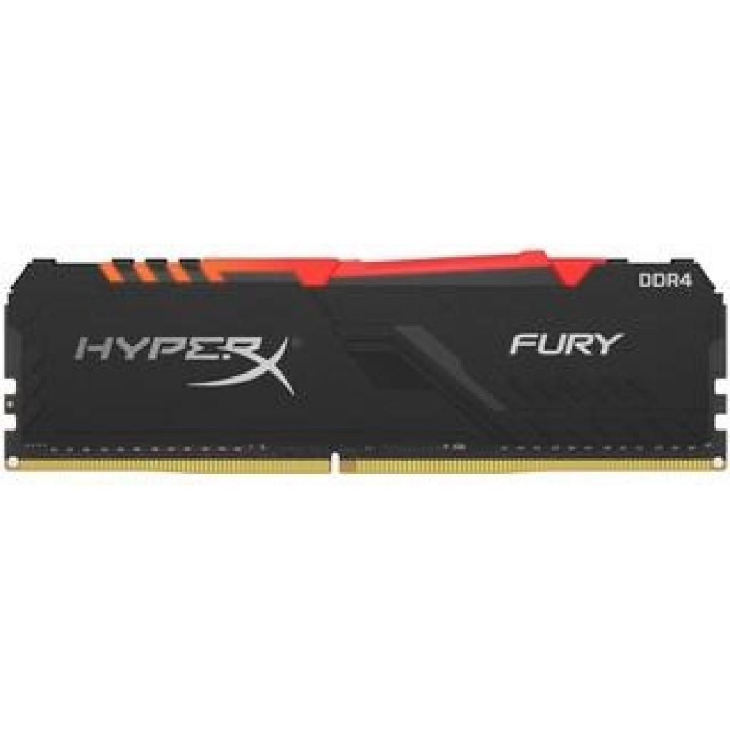 Модуль пам'яті для комп'ютера DDR4 32GB (2x16GB) 3200 MHz HyperX Fury Black Kingston (HX432C16FB3AK2/32)
