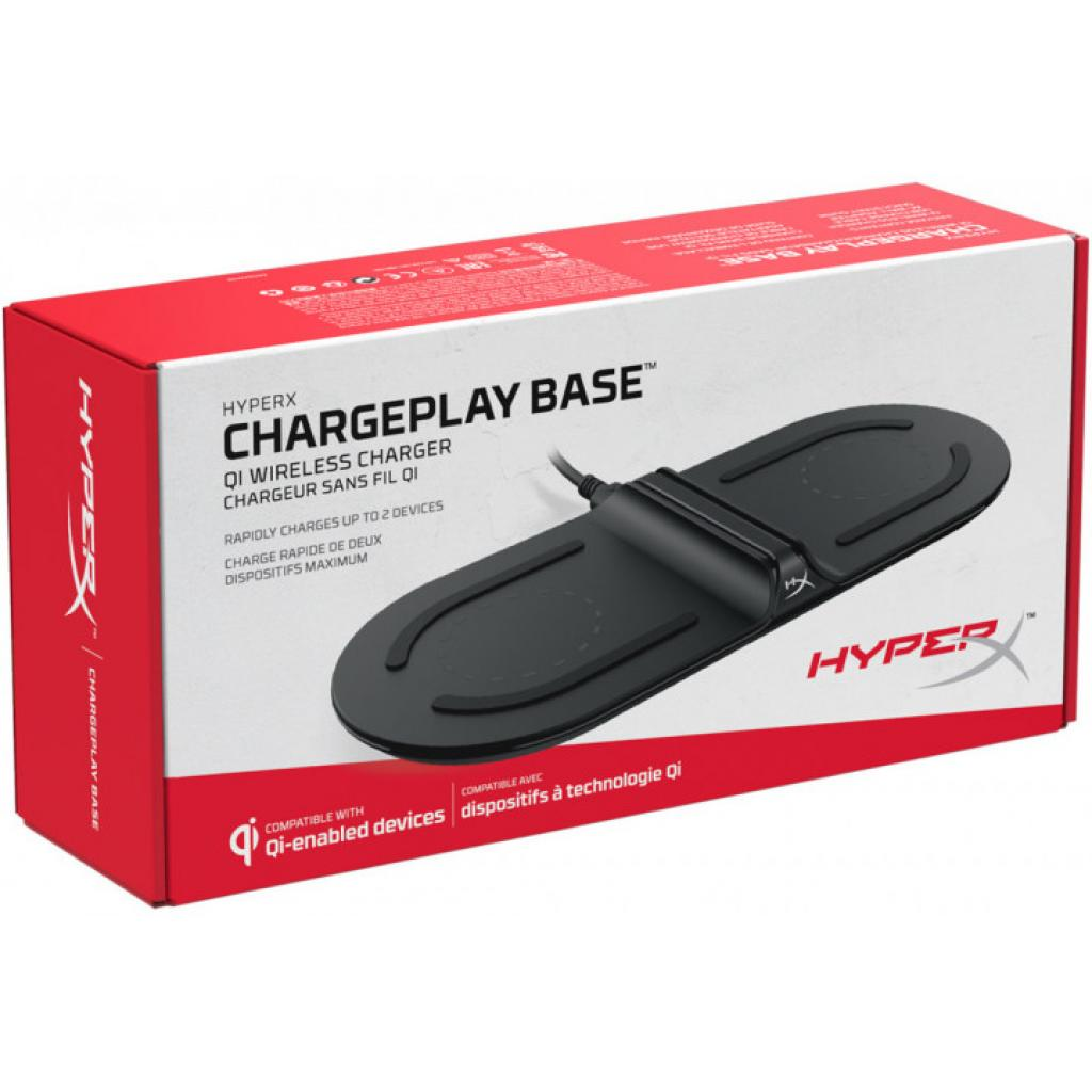 Зарядний пристрій HyperX ChargePlay Base Qi Wireless Charger (HX-CPBS-C) зображення 7