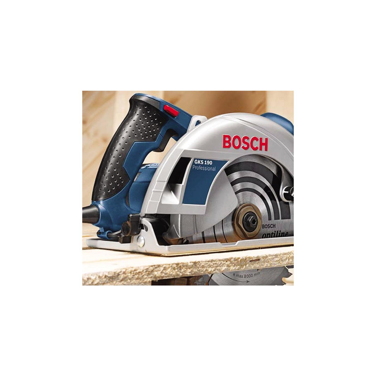 Дискова пила Bosch GKS 190 (0.601.623.000) зображення 5