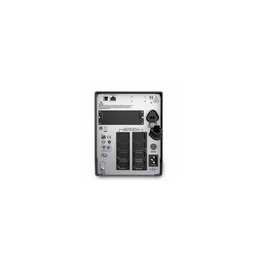 Источник бесперебойного питания APC Smart-UPS 1500VA LCD (SMT1500I) изображение 2