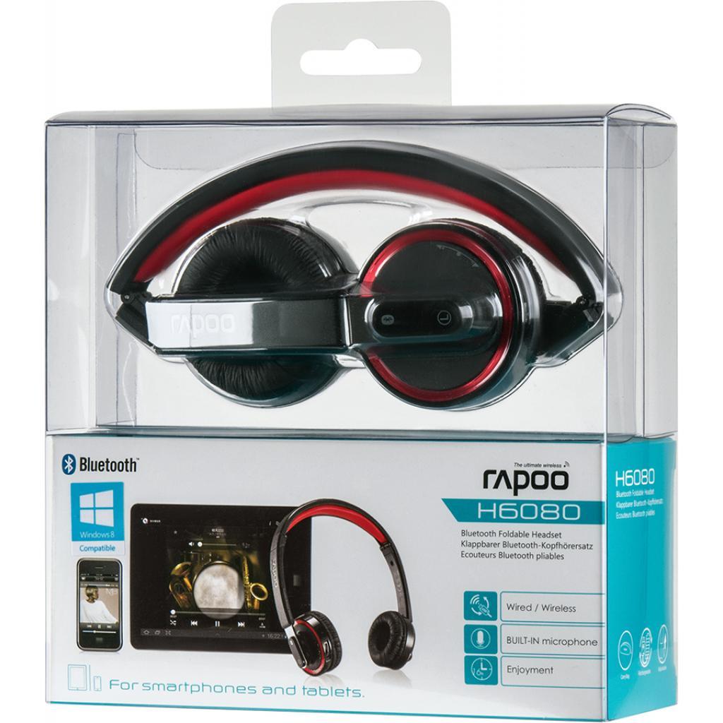 Наушники Rapoo H6080 Black bluetooth (H6080 Black) изображение 10