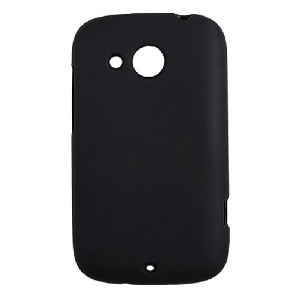 Чехол для моб. телефона Drobak для HTC Desire C /ElasticPU/Black (218863)