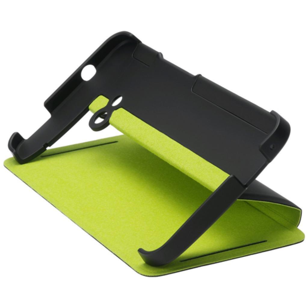 Чехол для моб. телефона HTC One (HC V841 Black-Green) (99H11296-00)