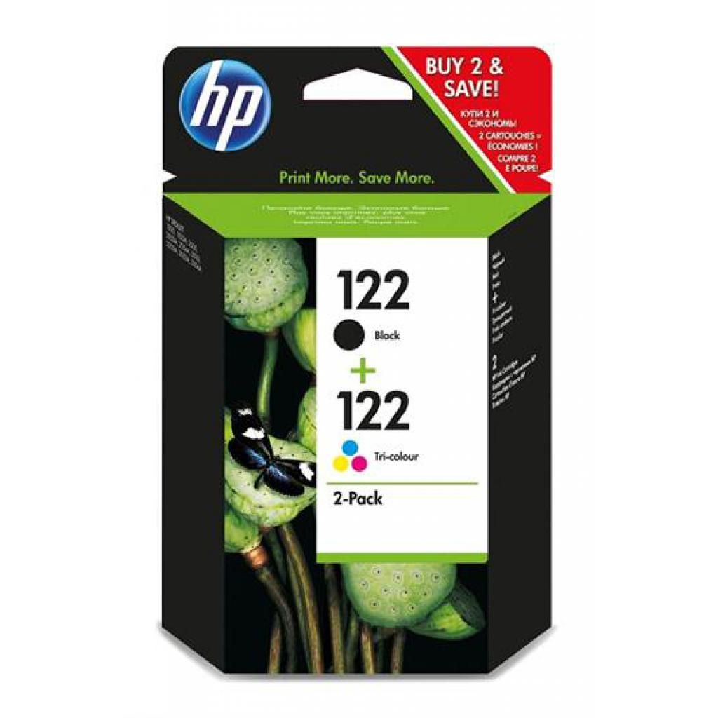 Картридж HP DJ No.122 Black/color (CH561+CH562) Combo Pack (CR340HE)