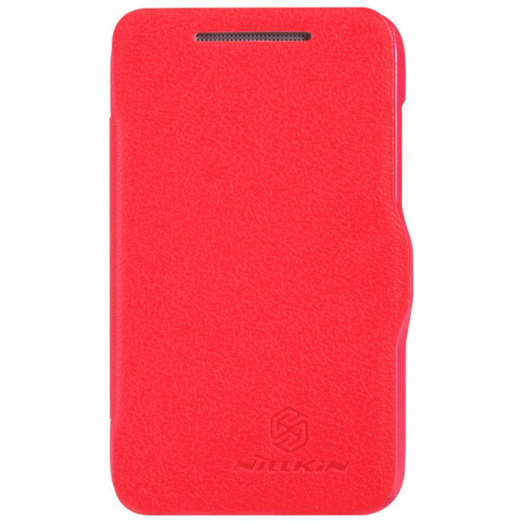 Чехол для моб. телефона NILLKIN для HTC Desire 200 /Fresh/ Leather/Red (6076828)