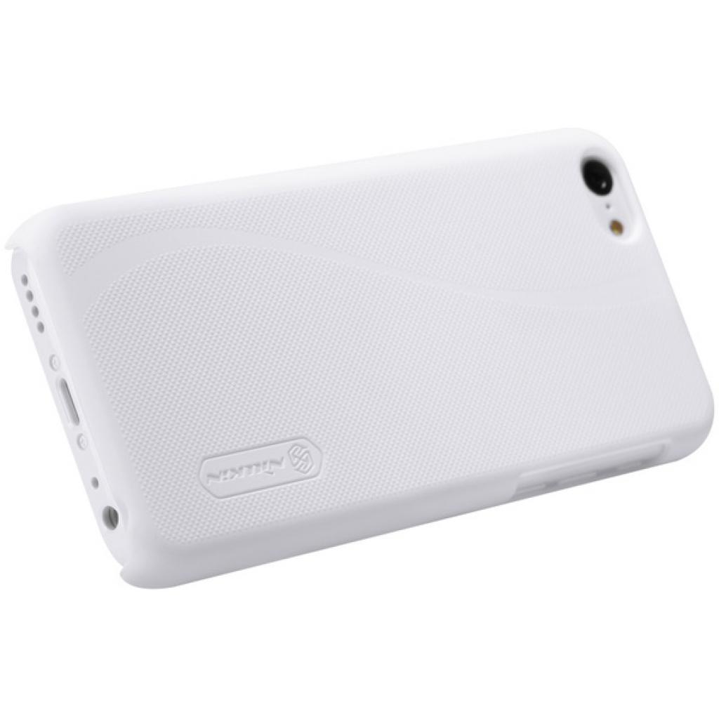 Чехол для моб. телефона NILLKIN для iPhone 5C /Super Frosted Shield/White (6077000) изображение 5
