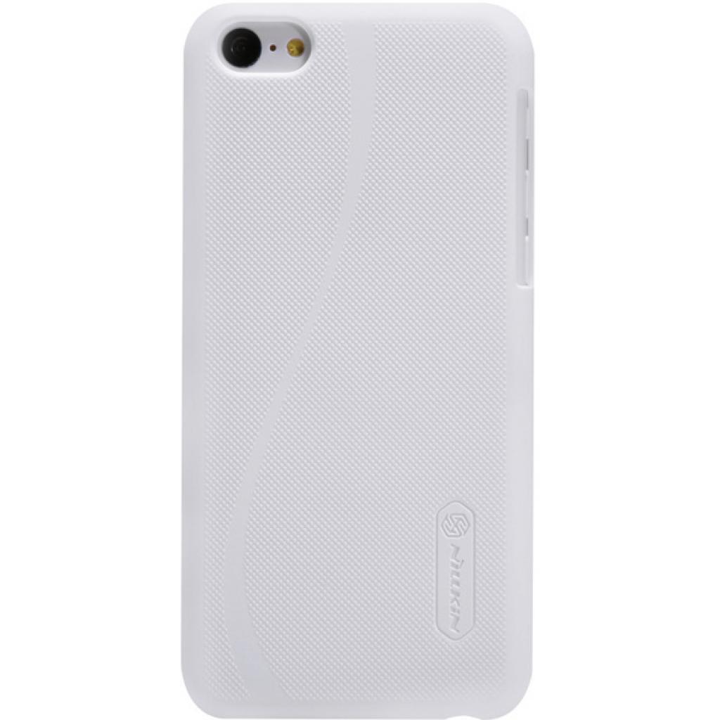 Чехол для моб. телефона NILLKIN для iPhone 5C /Super Frosted Shield/White (6077000)