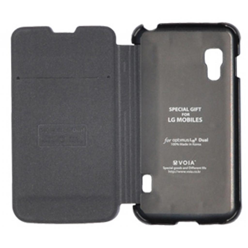 Чехол для моб. телефона VOIA для LG E455 Optimus L5II Dual /Flip/Black (6068233) изображение 2