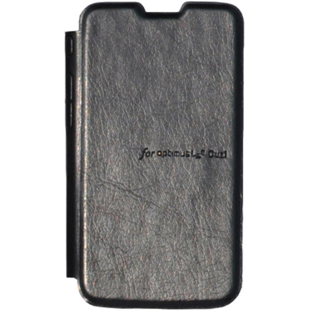 Чехол для моб. телефона VOIA для LG E455 Optimus L5II Dual /Flip/Black (6068233)
