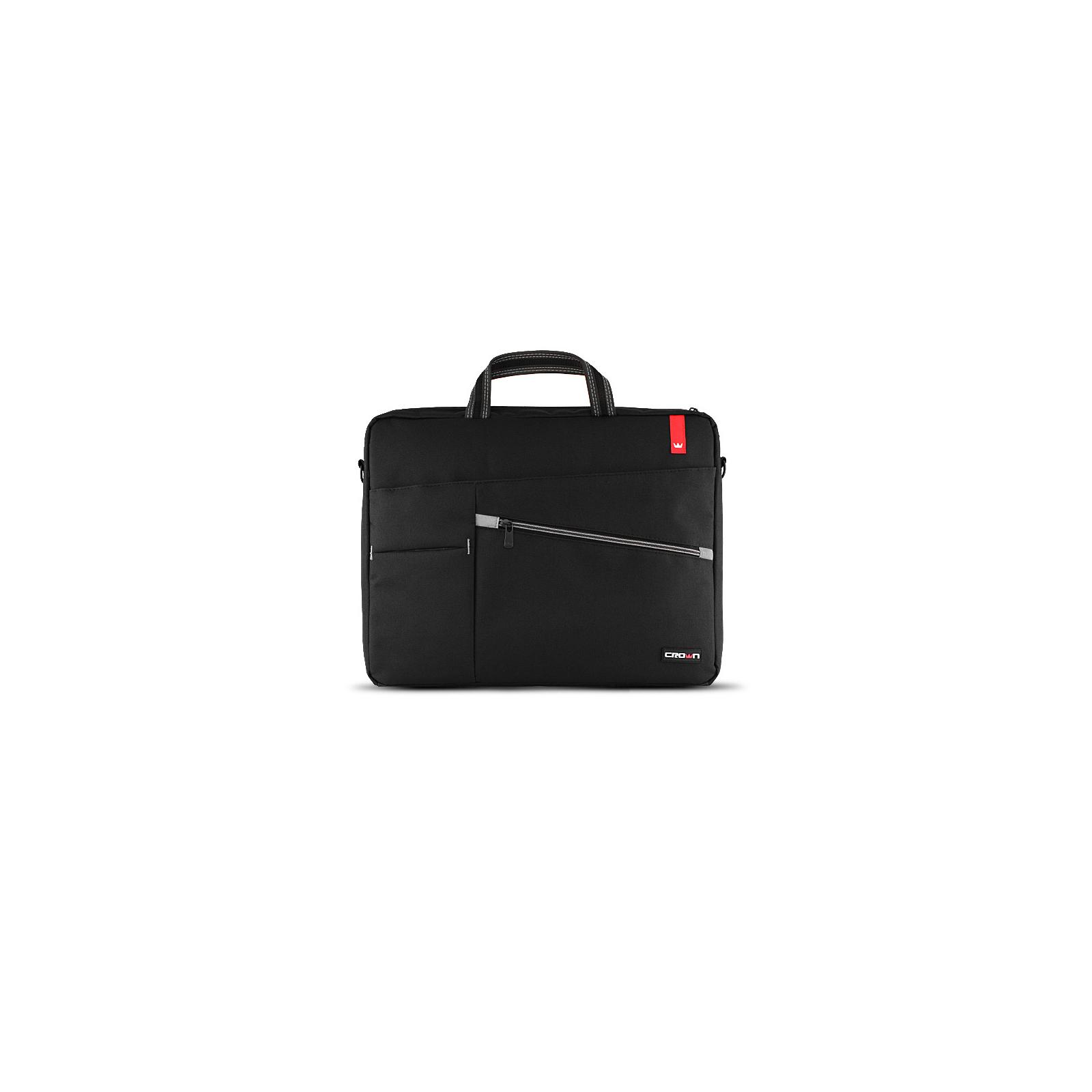Сумка для ноутбука Crown 17 Classic black (CMB-558)