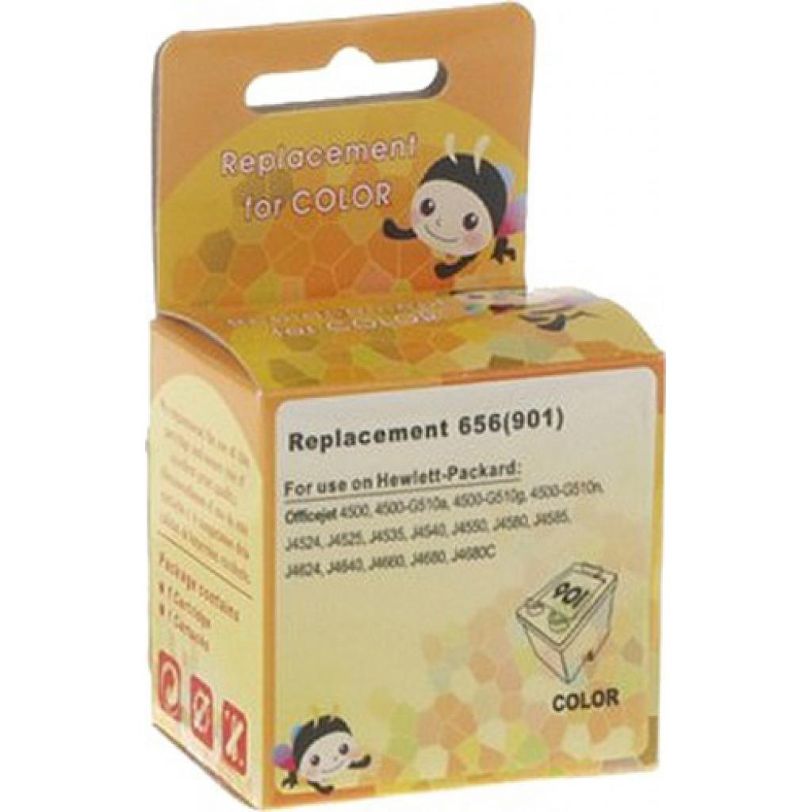 Картридж MicroJet для HP №901 Color (CC656AE) (HC-I901C)