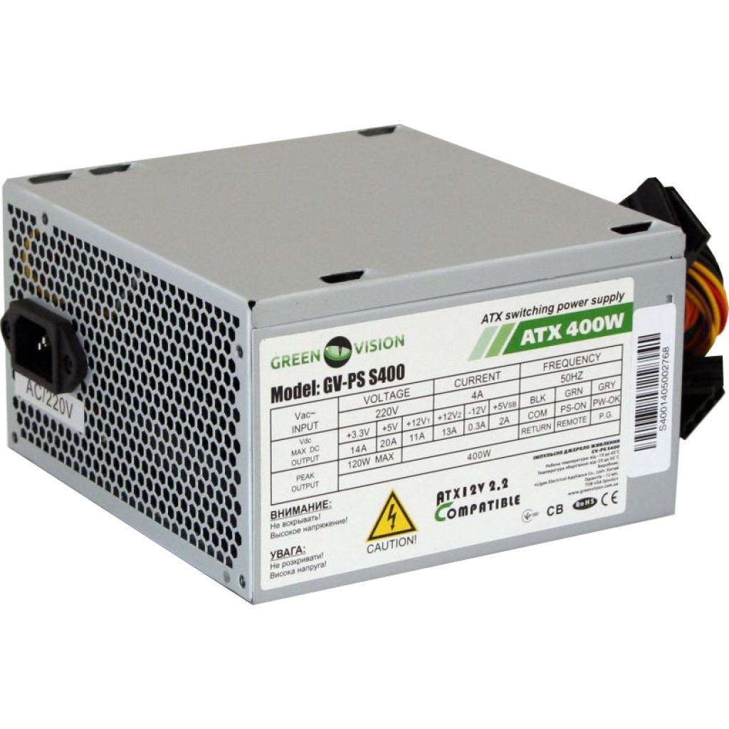 Блок питания GreenVision 400W (GV-PS ATX S400/12)