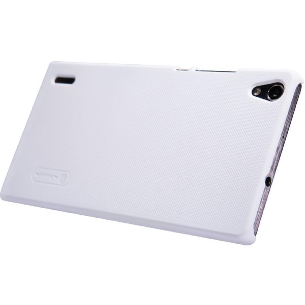 Чехол для моб. телефона NILLKIN для Huawei P7 /Super Frosted Shield/White (6154908) изображение 3