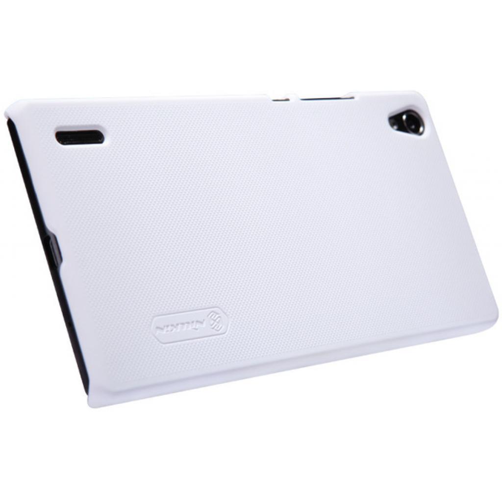 Чехол для моб. телефона NILLKIN для Huawei P7 /Super Frosted Shield/White (6154908) изображение 4