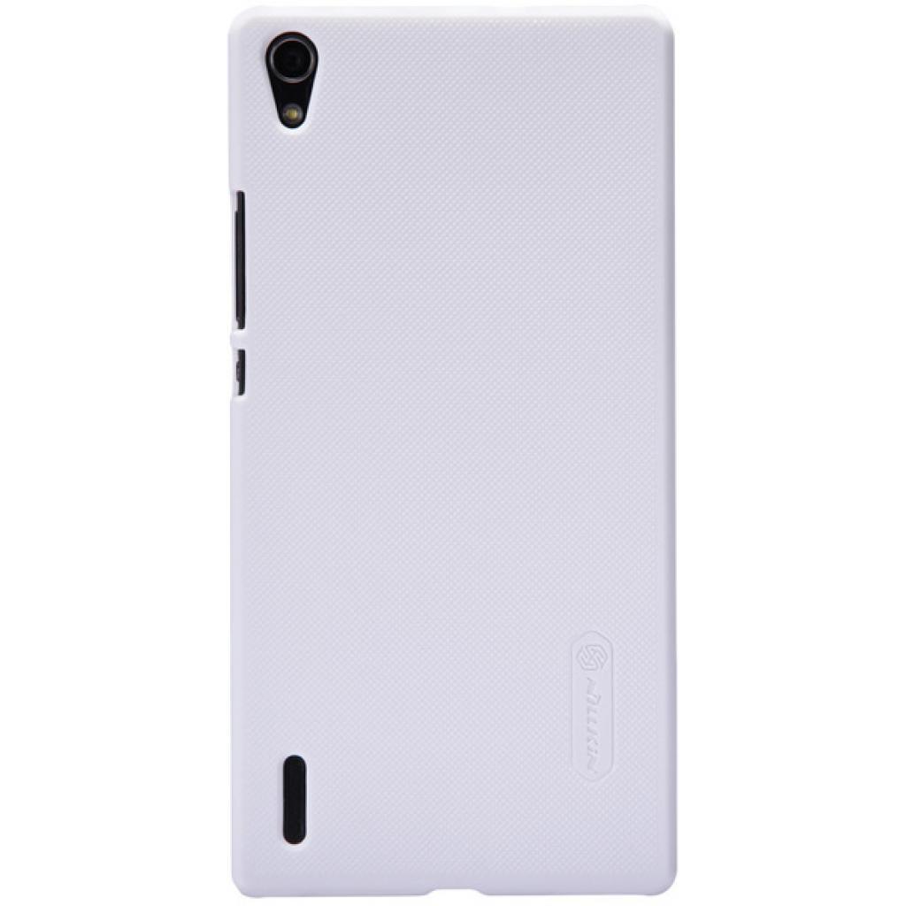 Чехол для моб. телефона NILLKIN для Huawei P7 /Super Frosted Shield/White (6154908)