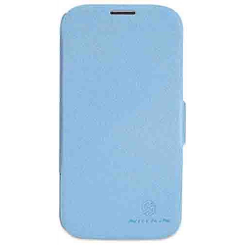 Чехол для моб. телефона NILLKIN для Samsung G900/S-5/Fresh/ Leather/Blue (6135310)
