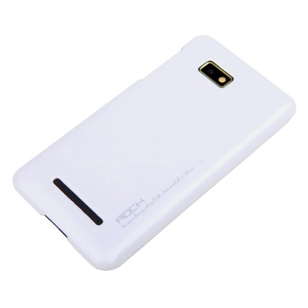 Чехол для моб. телефона Rock HTC One SU white New naked shell series,Extra-strong quality (T528w-44146)