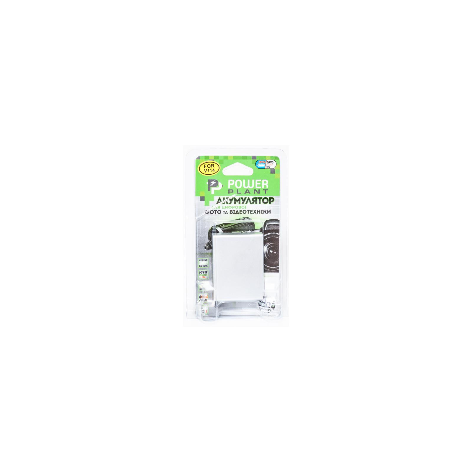Аккумулятор к фото/видео PowerPlant JVC BN-V114U (DV00DV1356) изображение 3