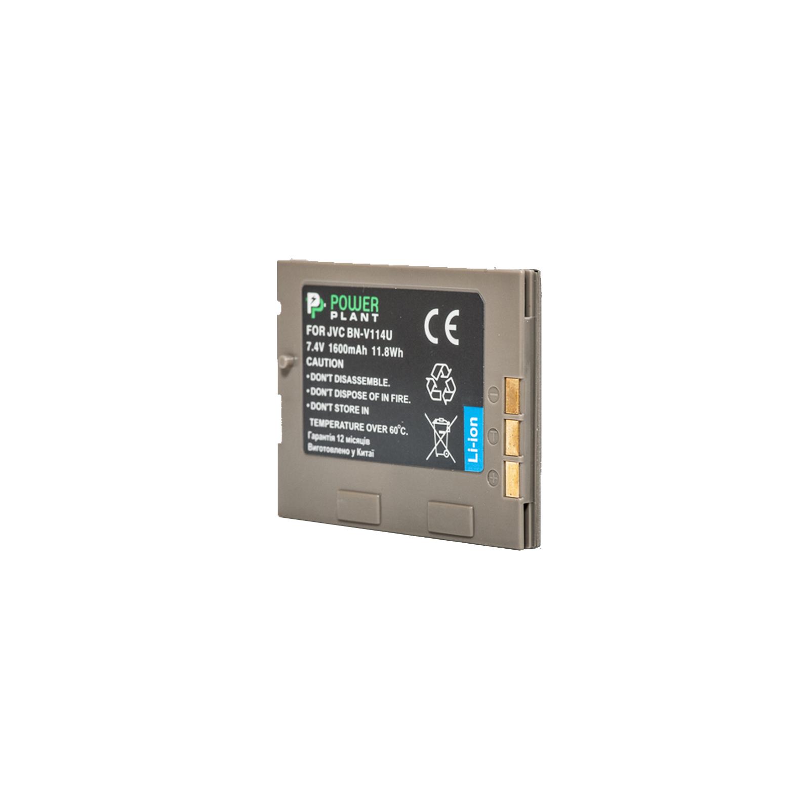 Аккумулятор к фото/видео PowerPlant JVC BN-V114U (DV00DV1356)